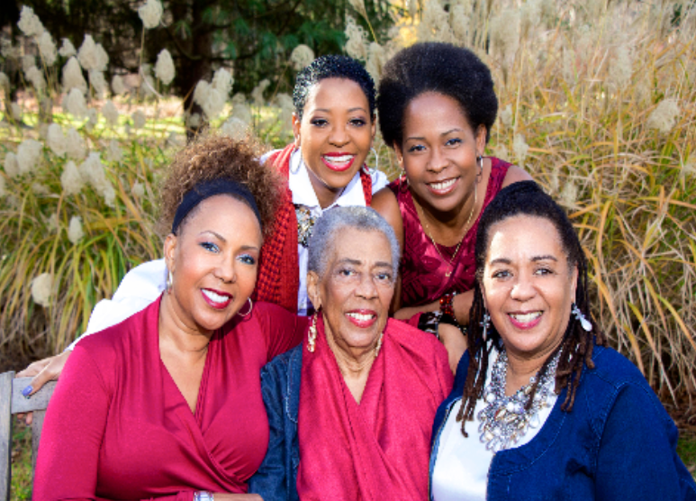 Sister Bosses <br> Four Entrepreneur Sisters Amy, Gloria, Wendy, and Pam, and mom Gwen